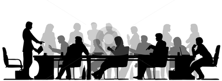 Meeting-clip-art-black-white-free-clipart-images-clipartcow